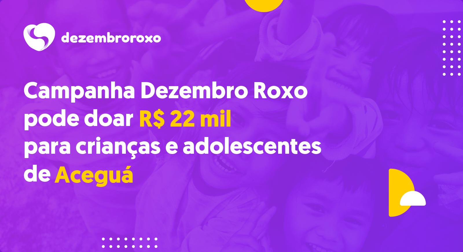 Doações em Aceguá - RS