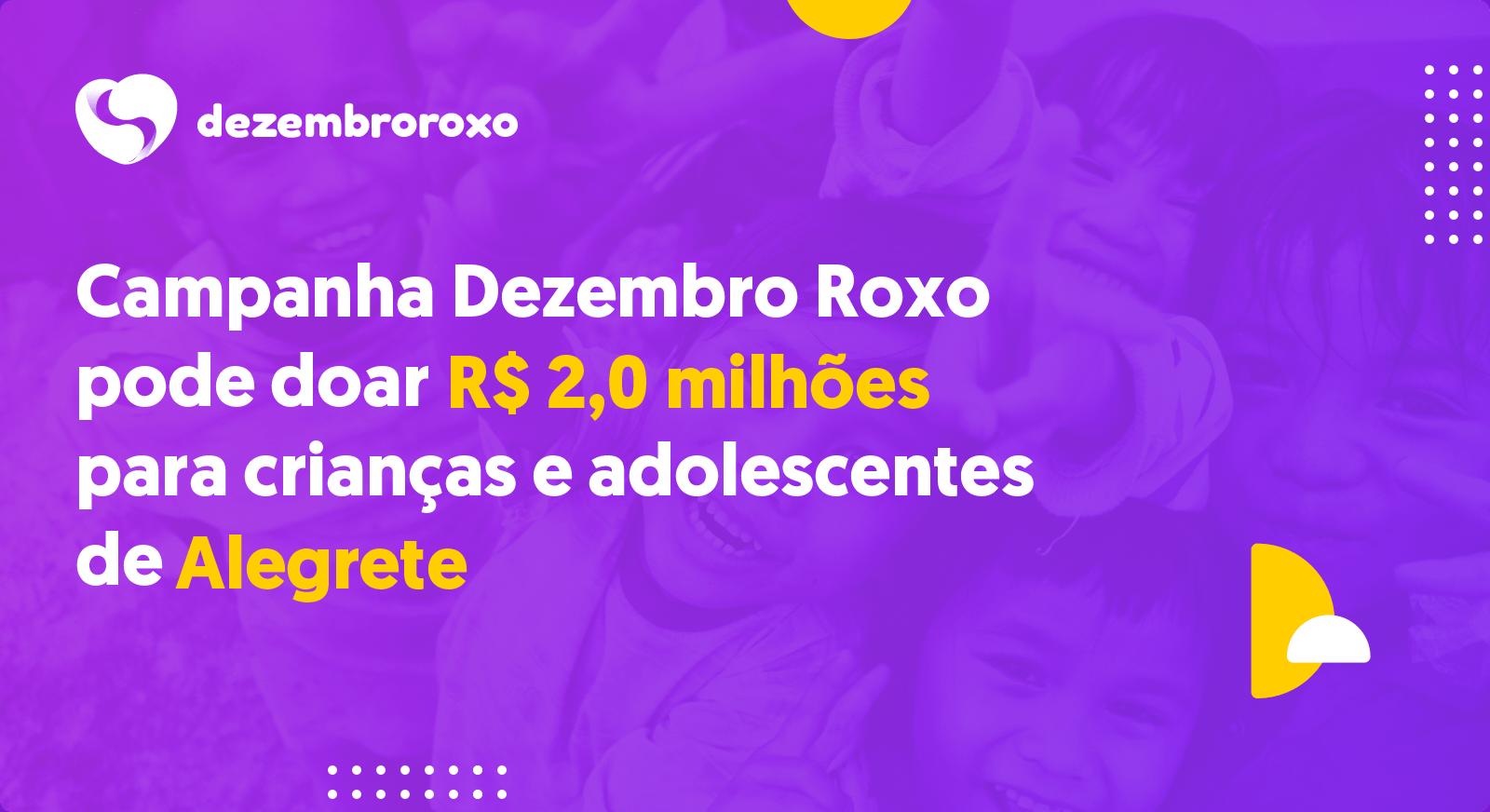 Doações em Alegrete - RS