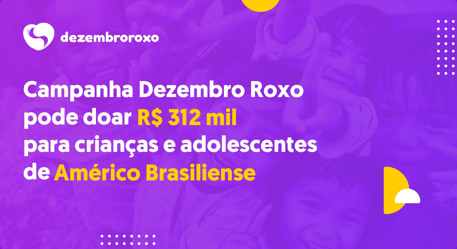 Doações em Américo Brasiliense - SP
