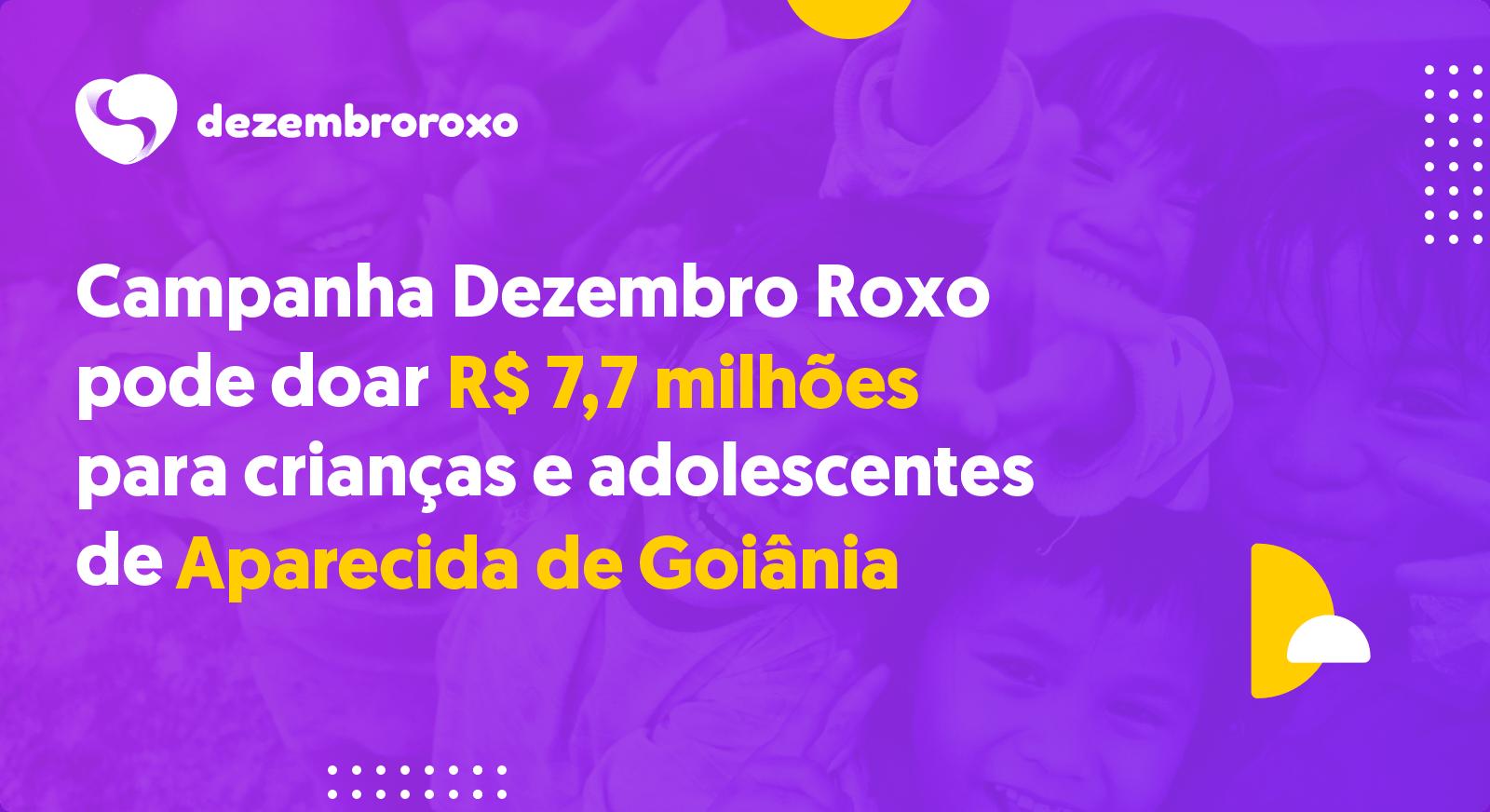 Doações em Aparecida de Goiânia - GO