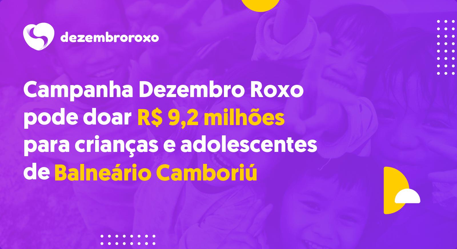 Doações em Balneário Camboriú - SC