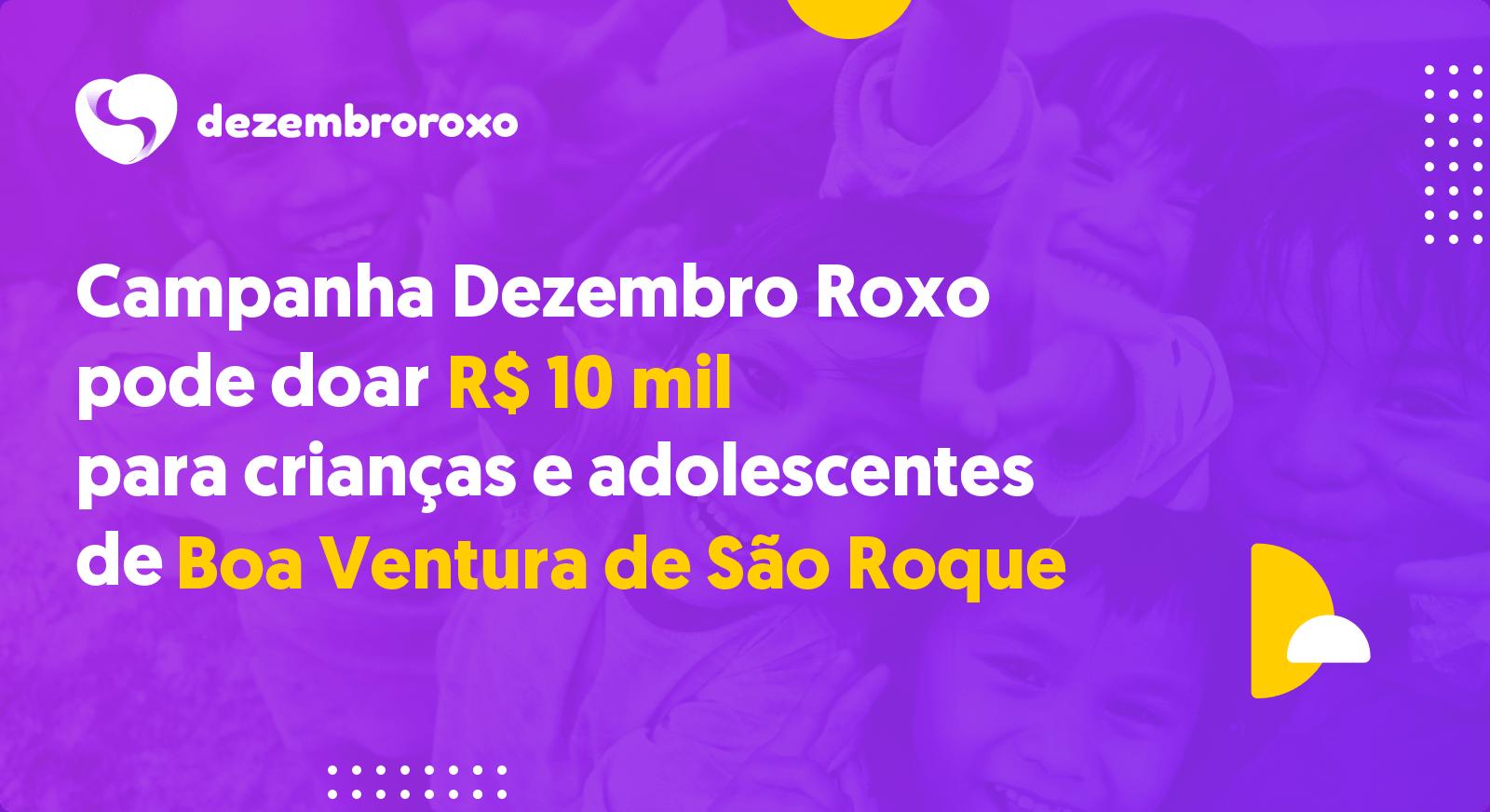 Doações em Boa Ventura de São Roque - PR