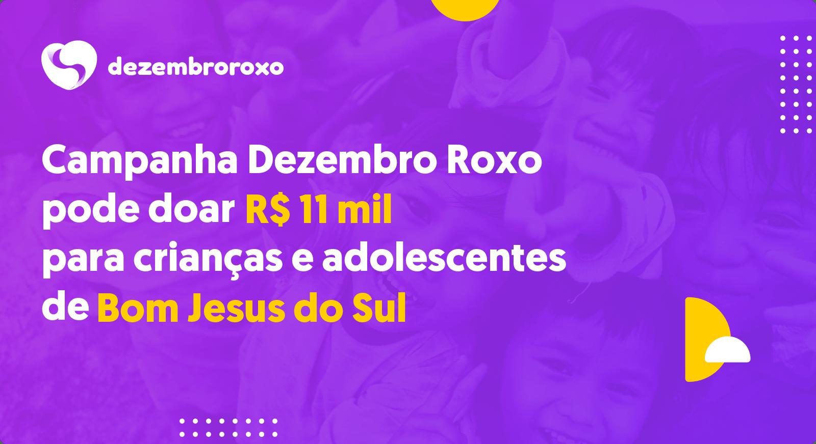Doações em Bom Jesus do Sul - PR