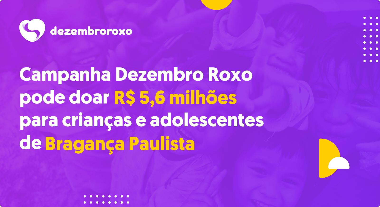 Doações em Bragança Paulista - SP