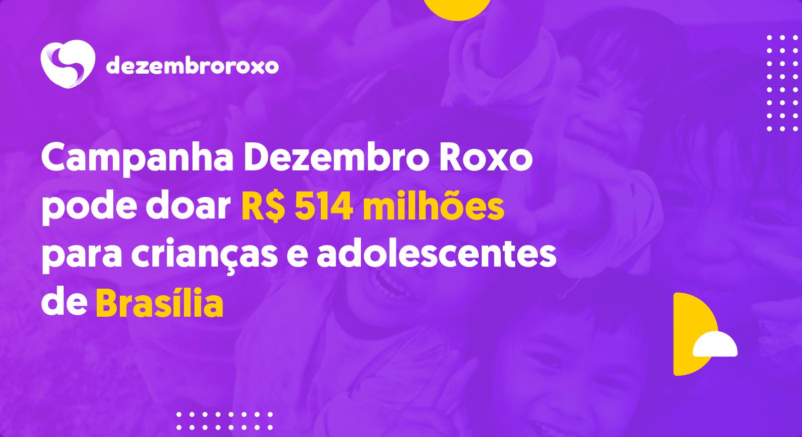 Doações em Brasília - DF