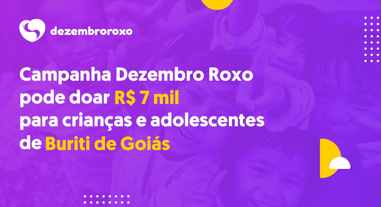 Doações em Buriti de Goiás - GO