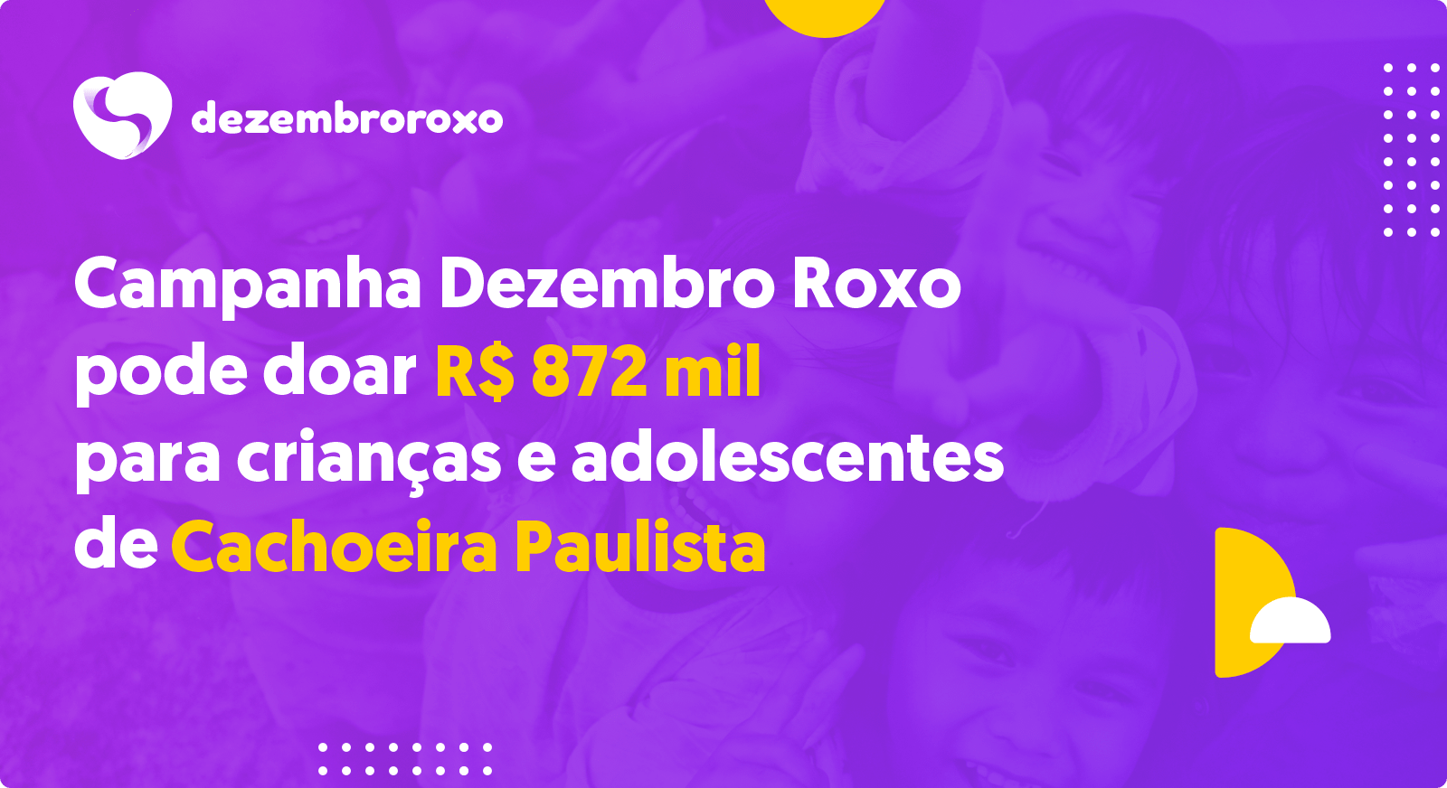 Doações em Cachoeira Paulista - SP