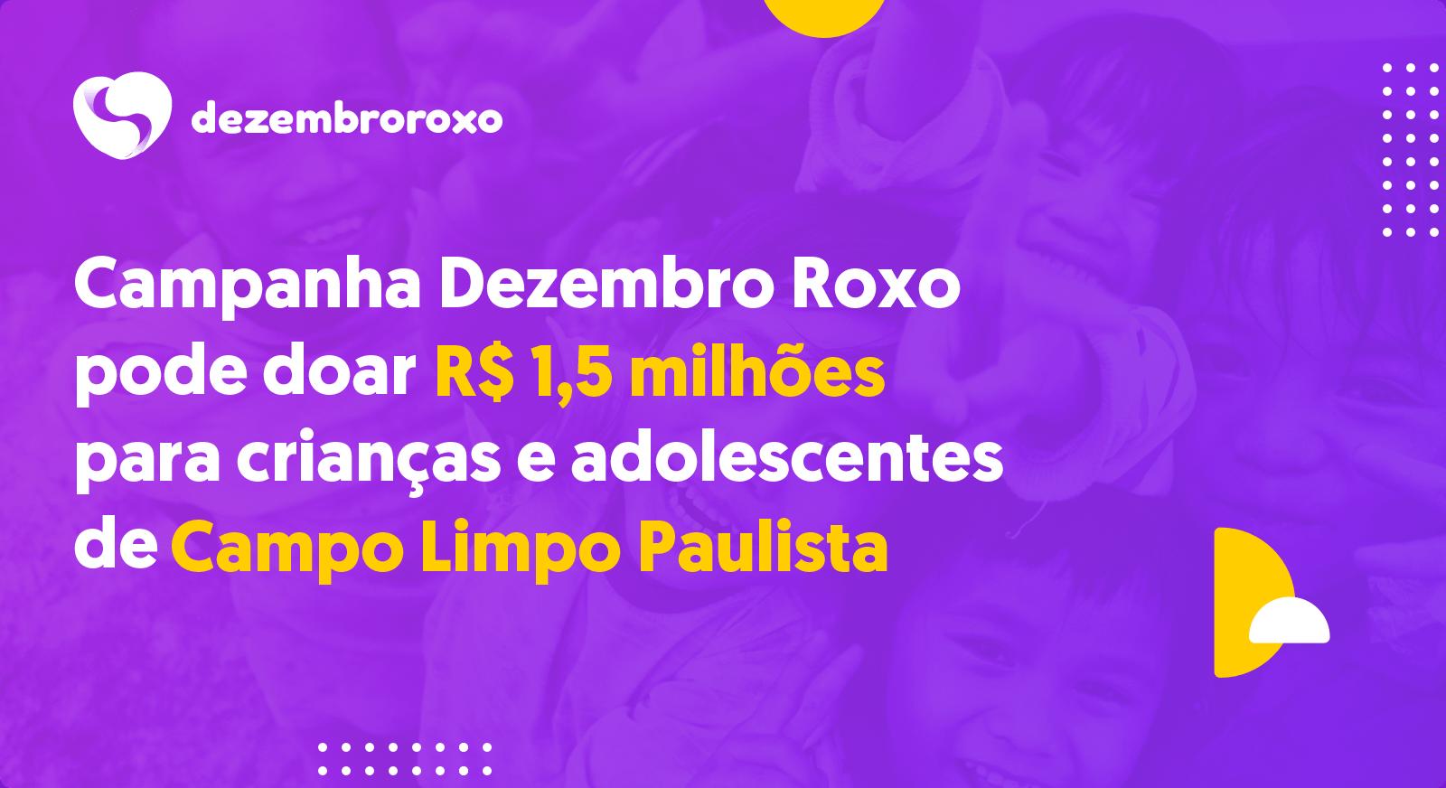 Doações em Campo Limpo Paulista - SP