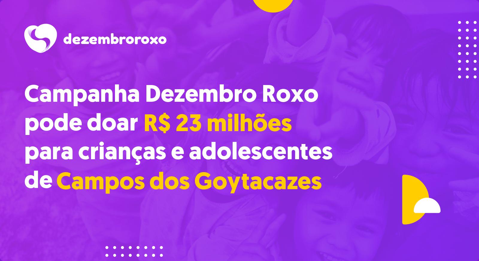 Doações em Campos dos Goytacazes - RJ