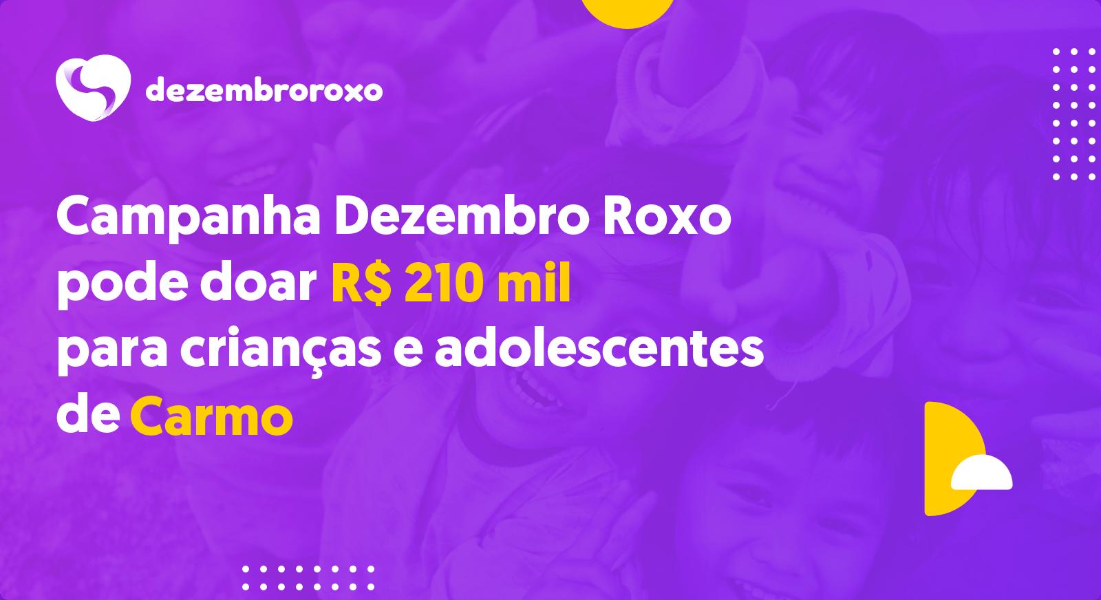 Doações em Carmo - RJ