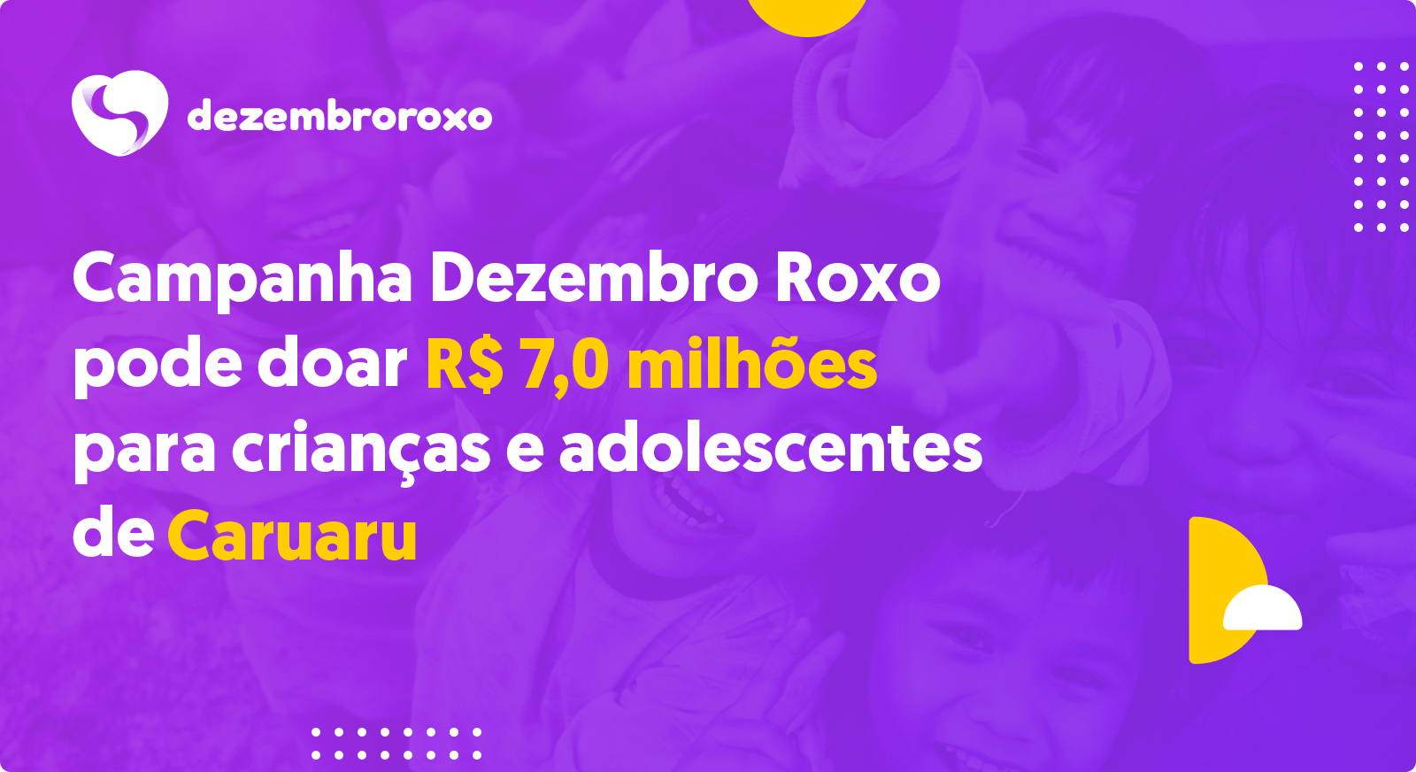 Doações em Caruaru - PE