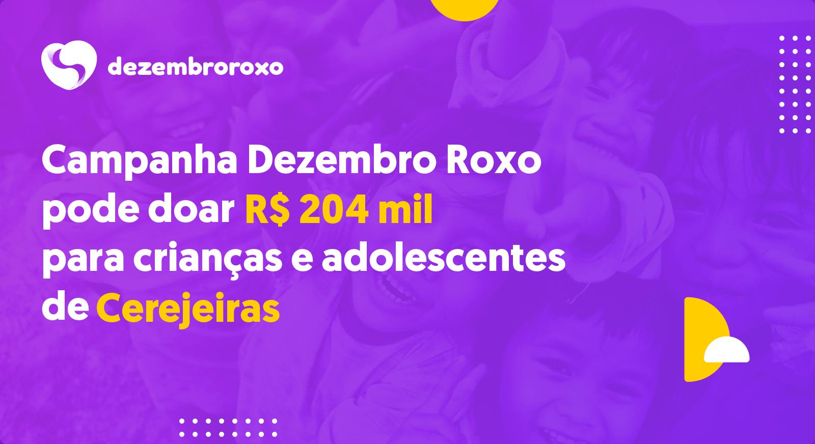 Doações em Cerejeiras - RO