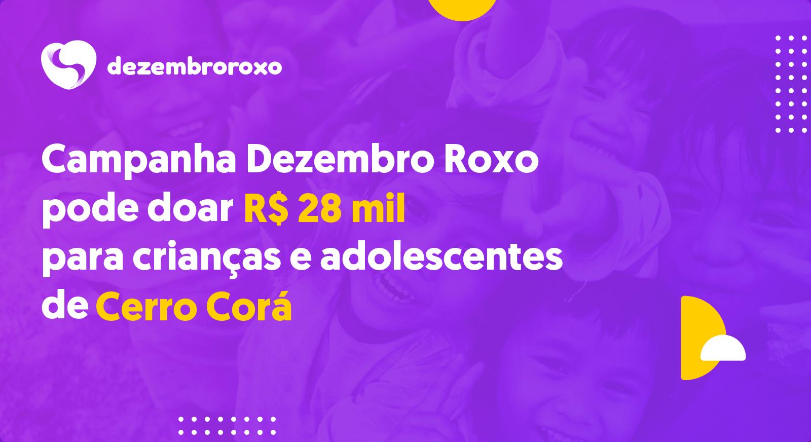 Doações em Cerro Corá - RN