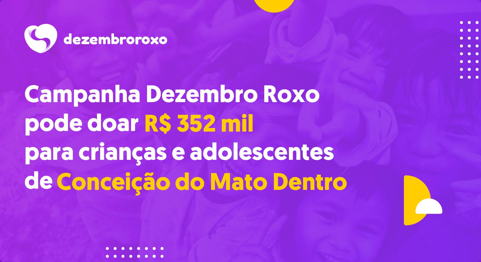 Doações em Conceição do Mato Dentro - MG