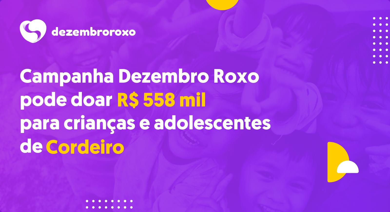 Doações em Cordeiro - RJ
