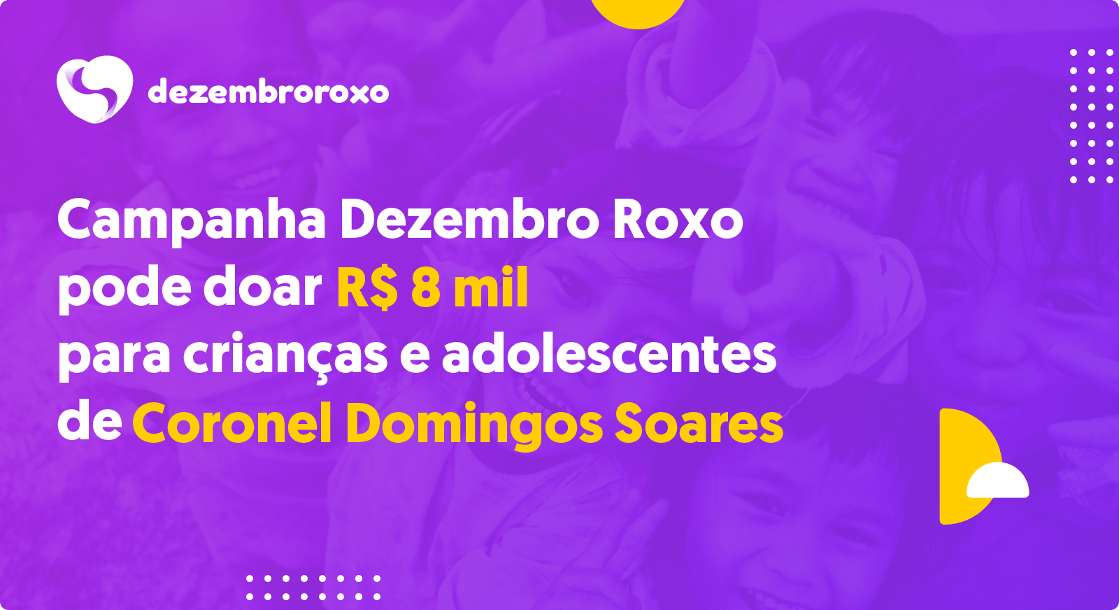 Doações em Coronel Domingos Soares - PR