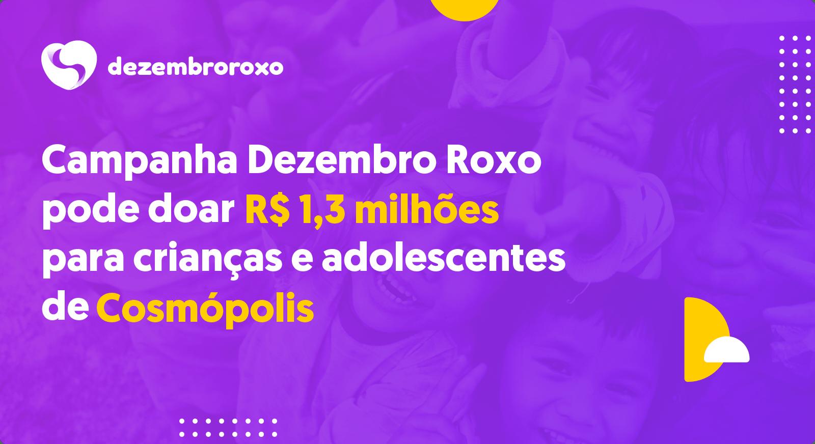 Doações em Cosmópolis - SP