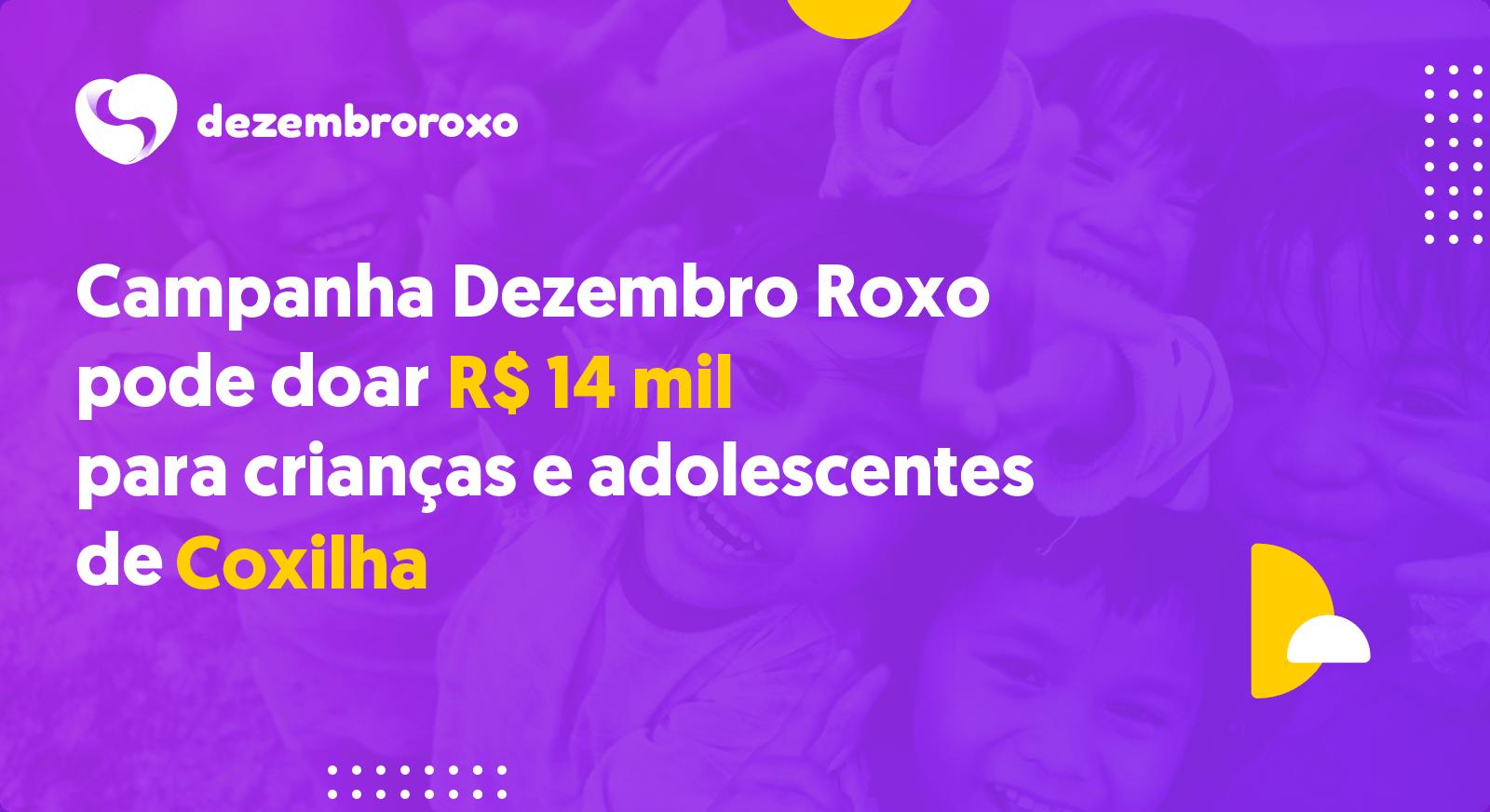 Doações em Coxilha - RS
