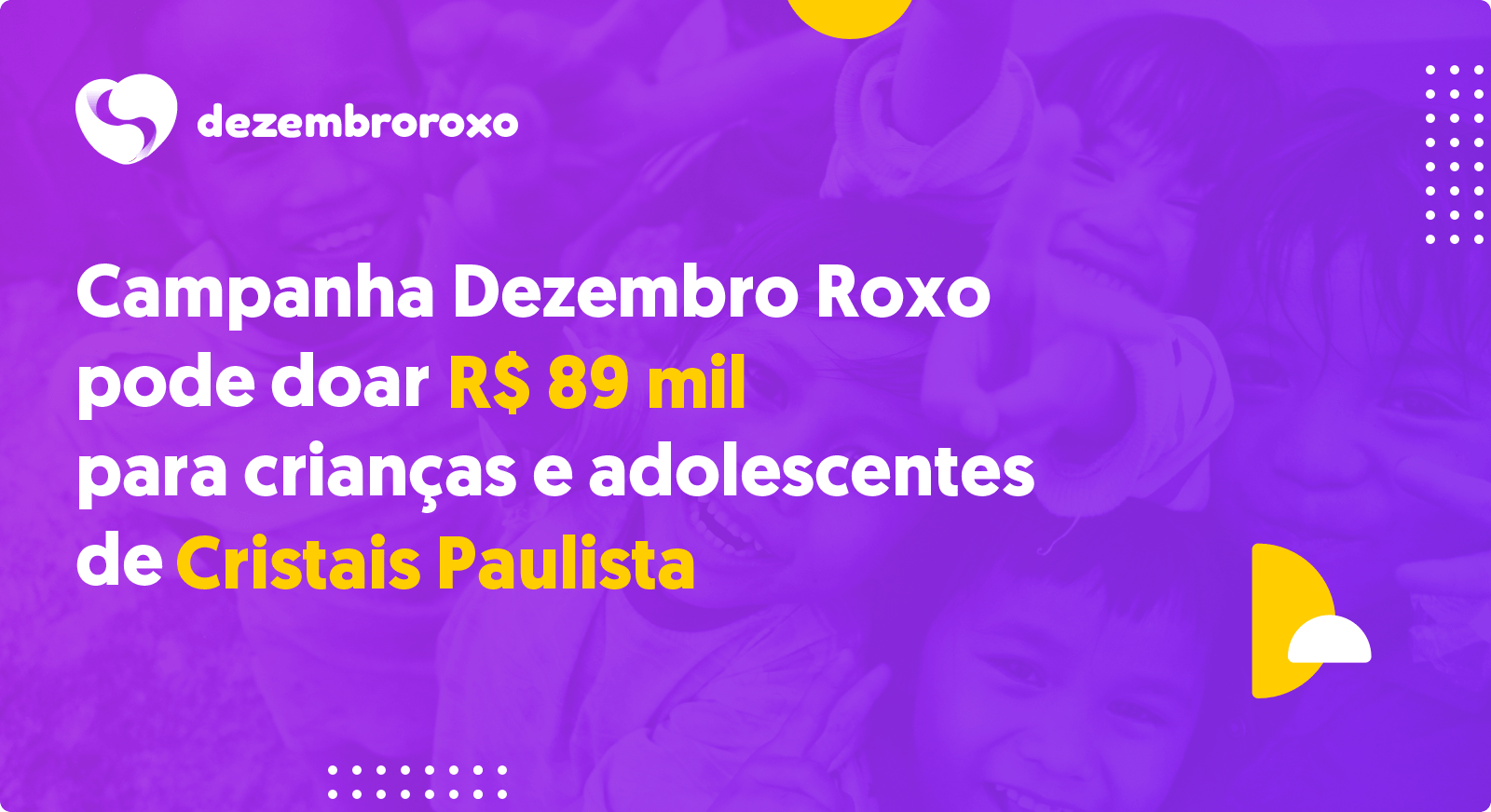 Doações em Cristais Paulista - SP