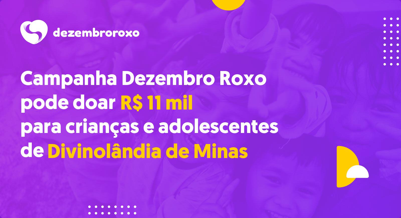 Doações em Divinolândia de Minas - MG