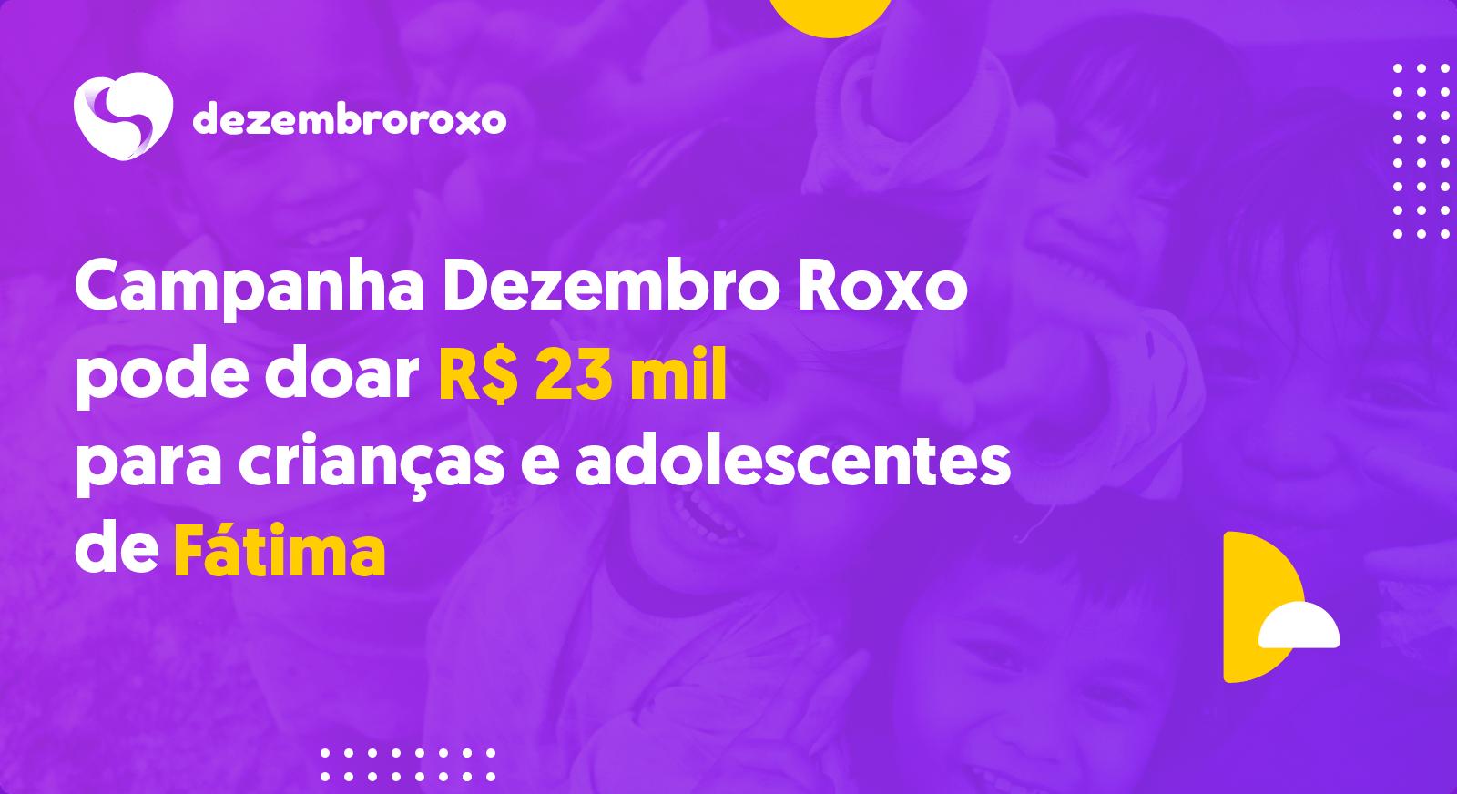 Doações em Fátima - TO