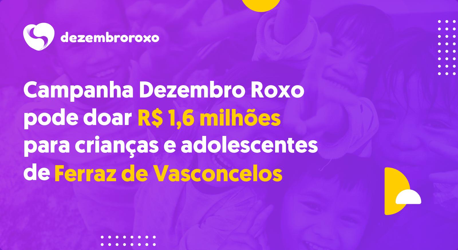 Doações em Ferraz de Vasconcelos - SP