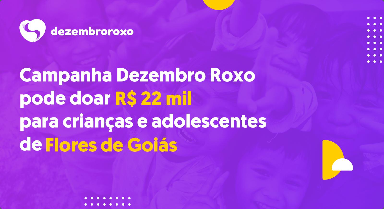 Doações em Flores de Goiás - GO