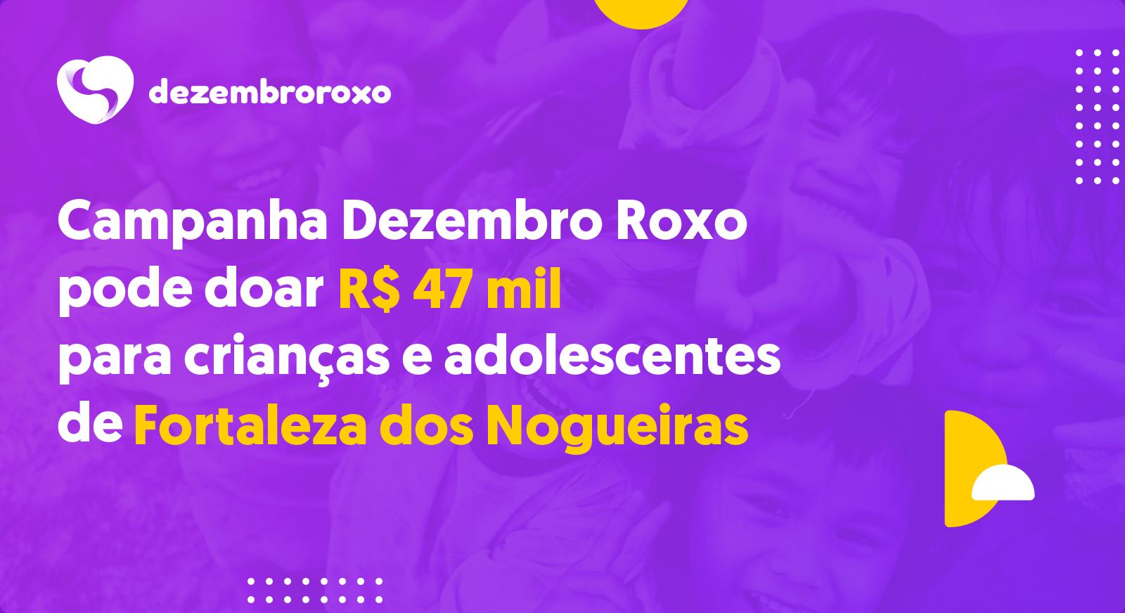 Doações em Fortaleza dos Nogueiras - MA