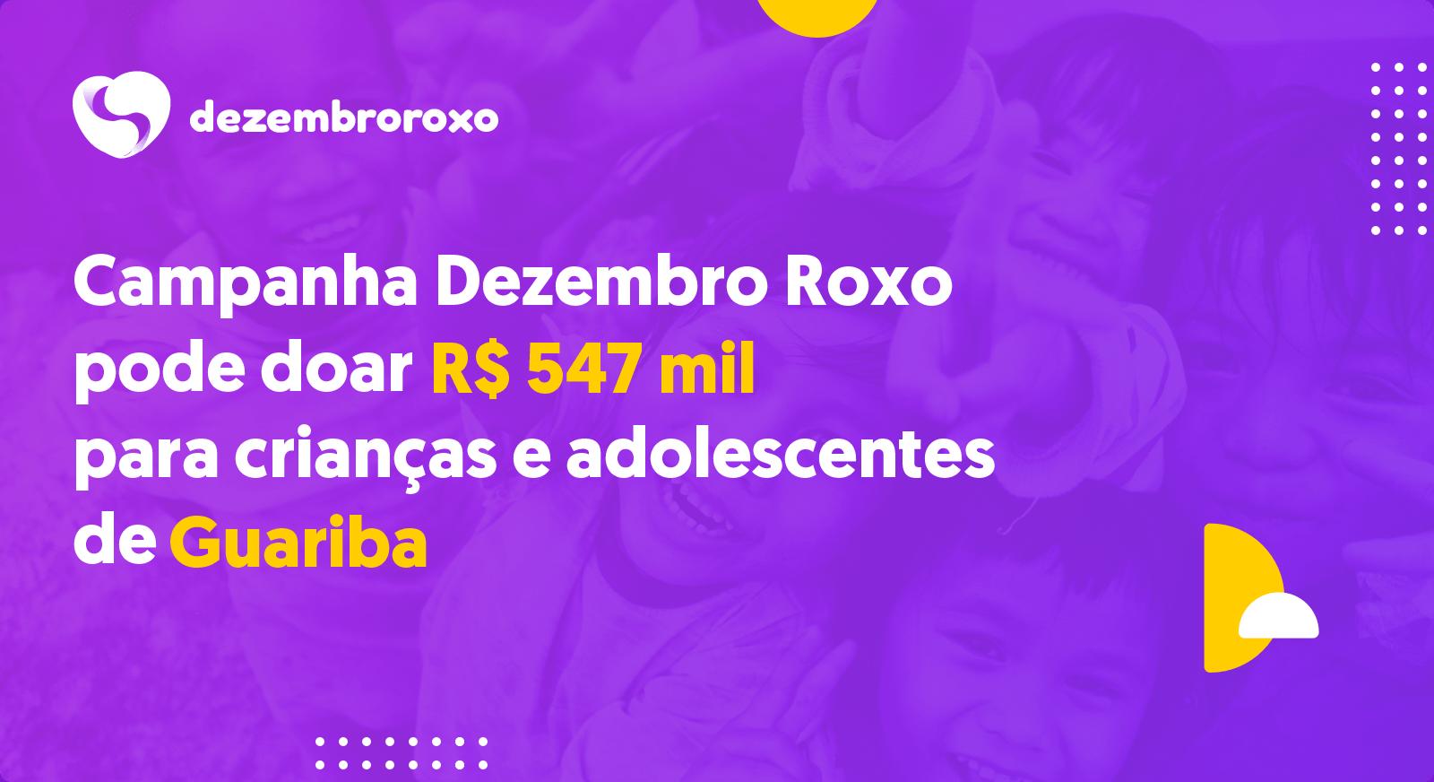 Doações em Guariba - SP
