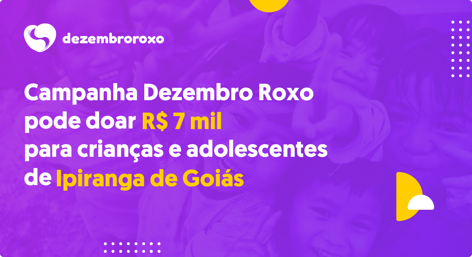 Doações em Ipiranga de Goiás - GO