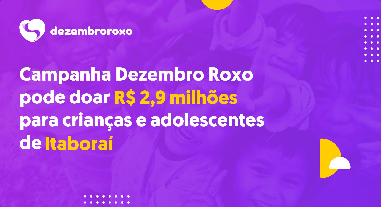 Doações em Itaboraí - RJ
