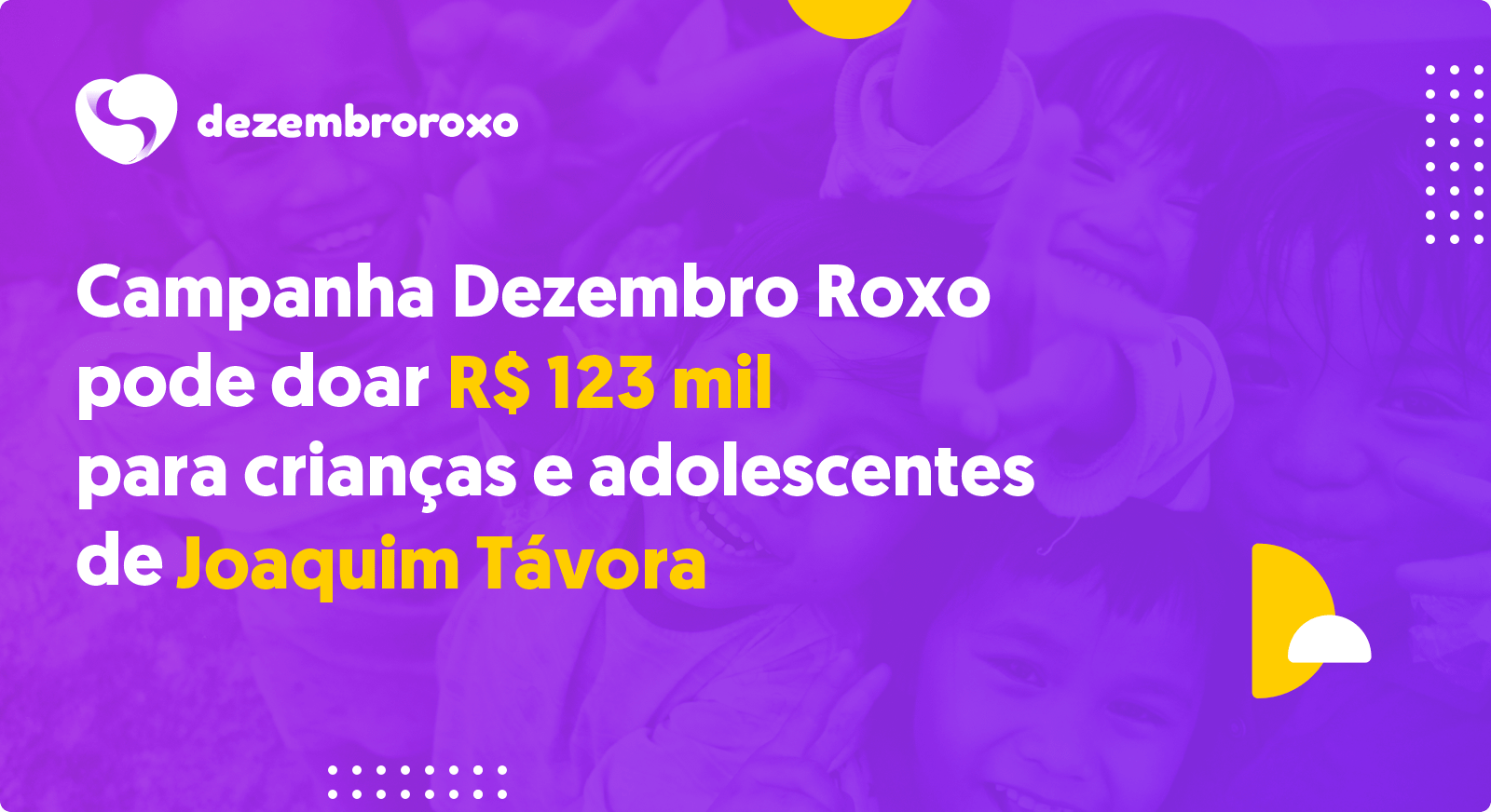 Doações em Joaquim Távora - PR
