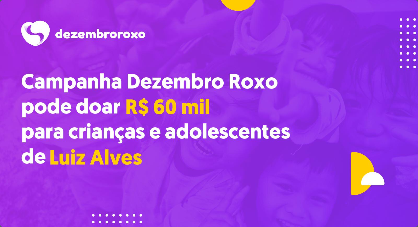 Doações em Luiz Alves - SC