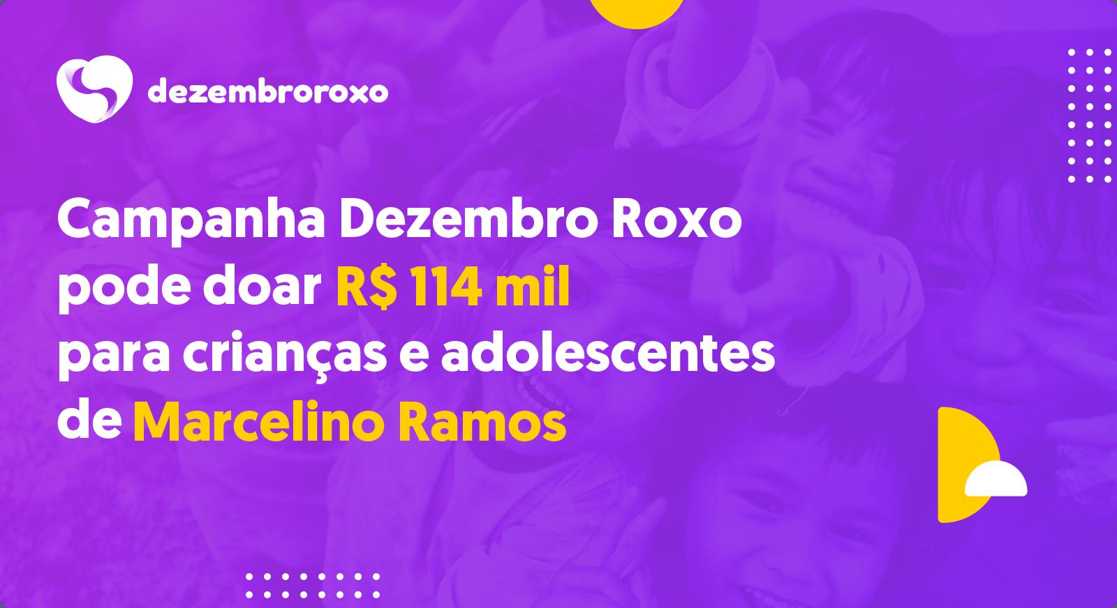 Doações em Marcelino Ramos - RS