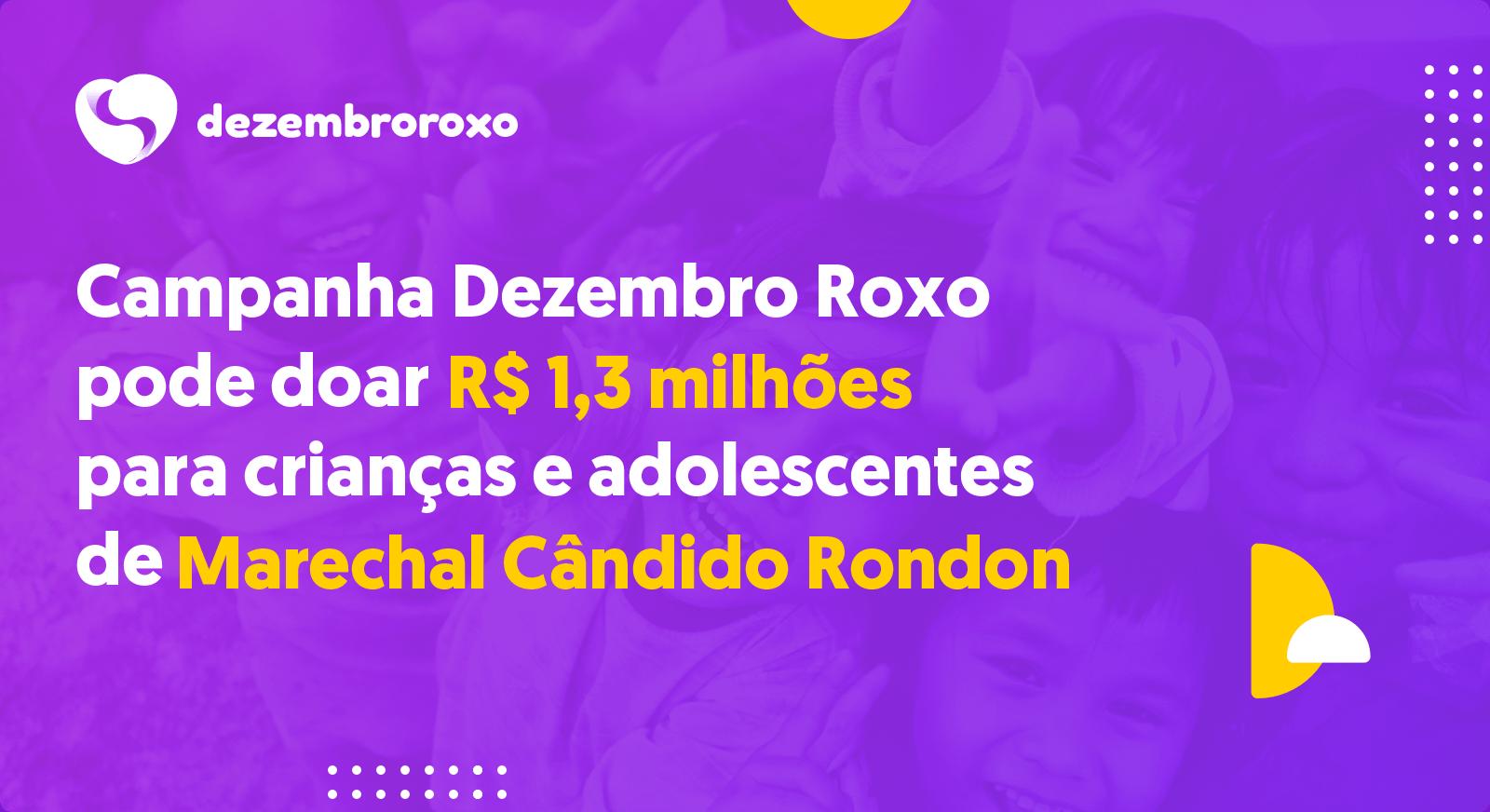 Doações em Marechal Cândido Rondon - PR