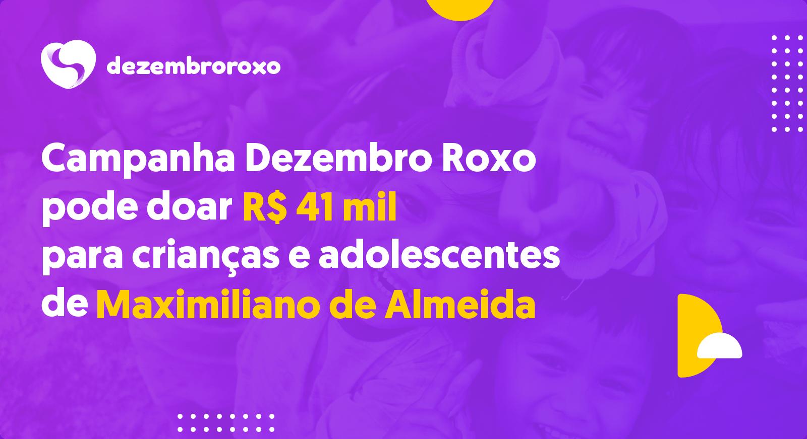 Doações em Maximiliano de Almeida - RS