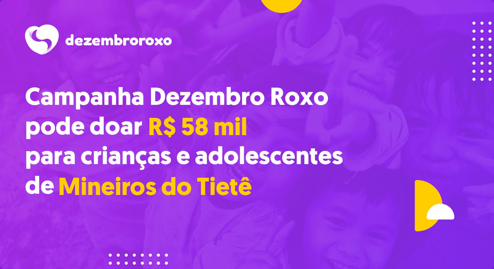 Doações em Mineiros do Tietê - SP