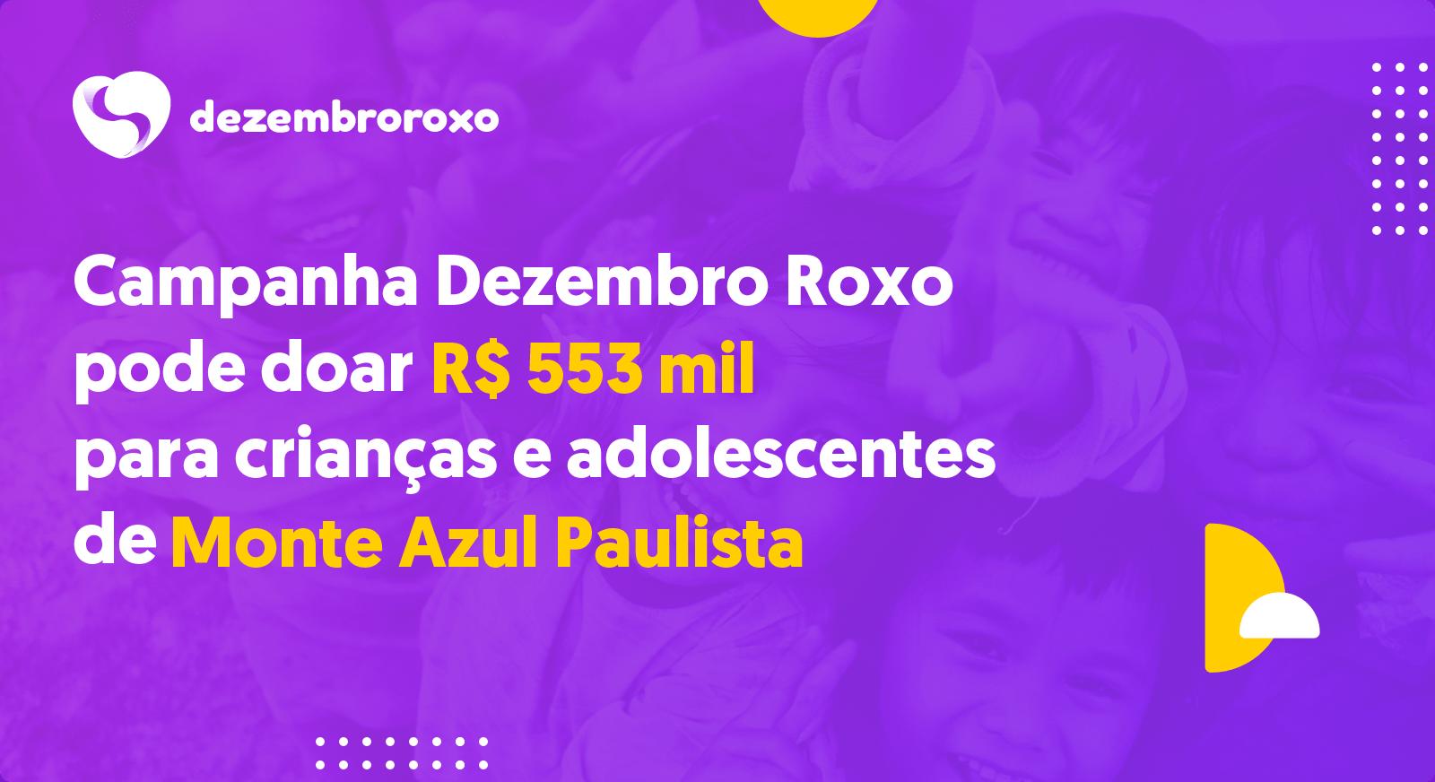 Doações em Monte Azul Paulista - SP