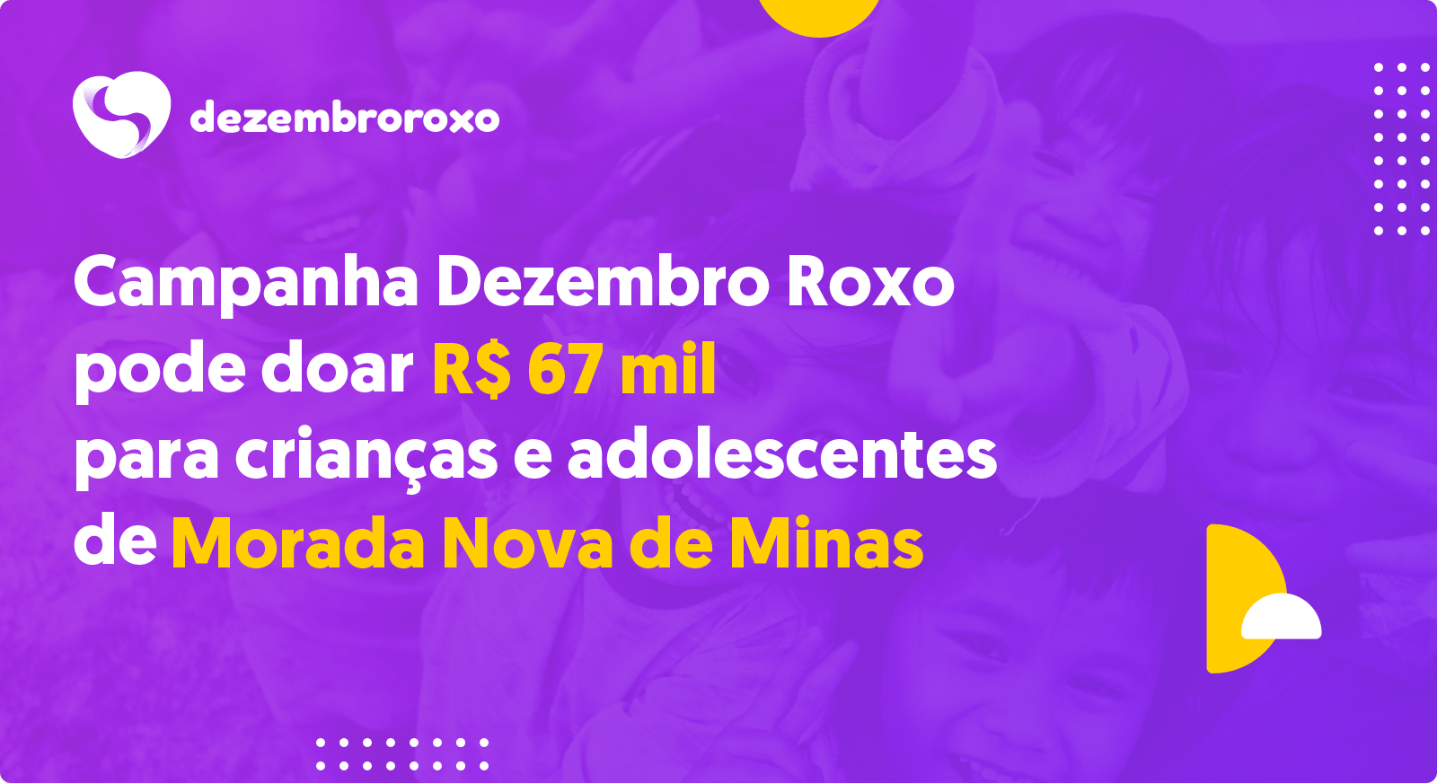 Doações em Morada Nova de Minas - MG