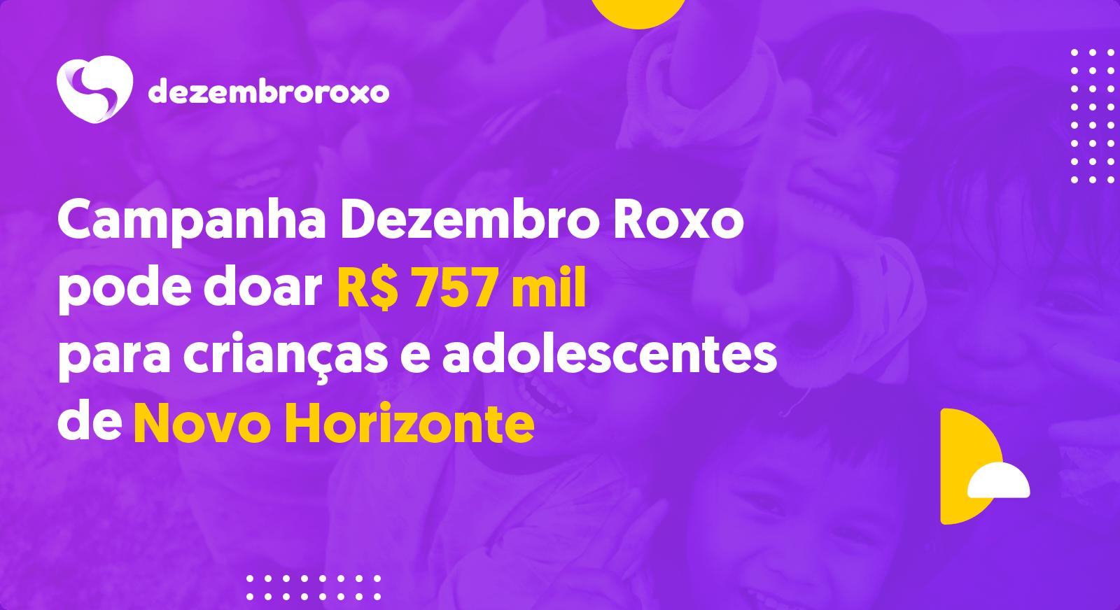 Doações em Novo Horizonte - SP