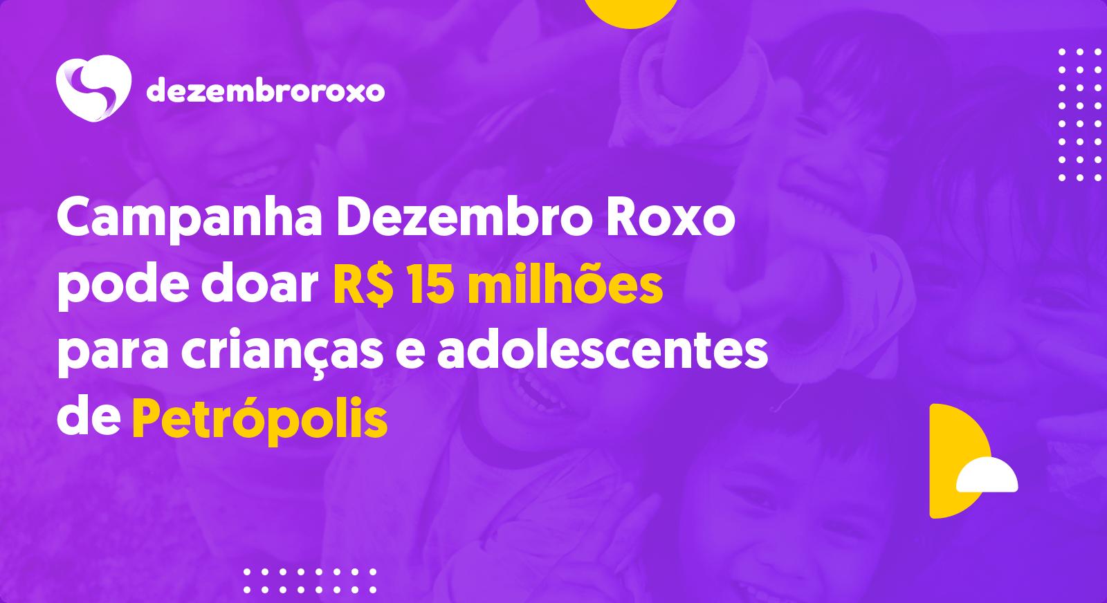 Doações em Petrópolis - RJ
