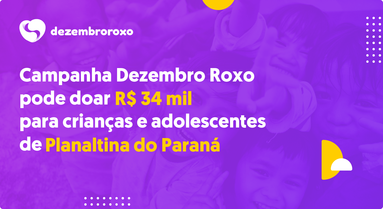 Doações em Planaltina do Paraná - PR