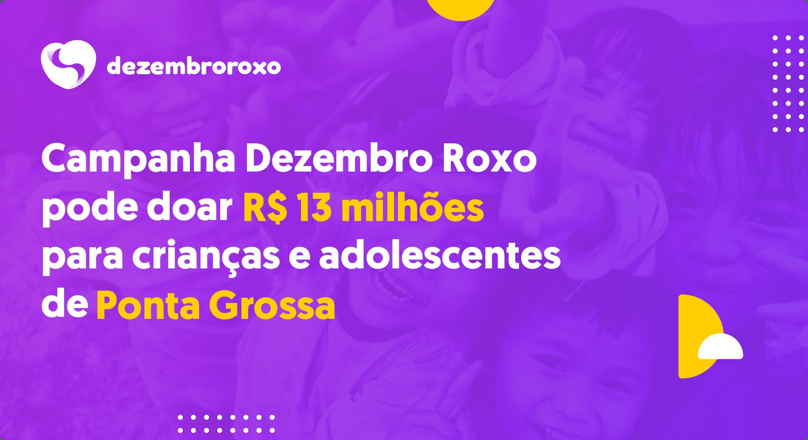 Doações em Ponta Grossa - PR