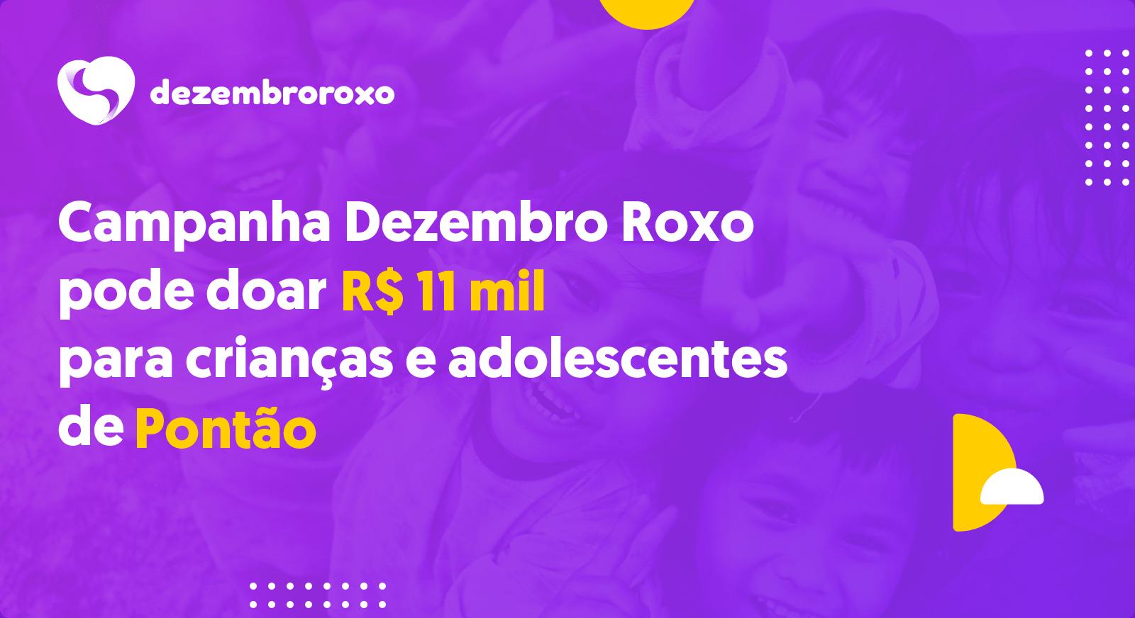 Doações em Pontão - RS