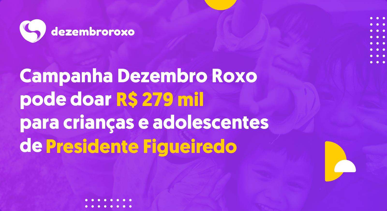 Doações em Presidente Figueiredo - AM