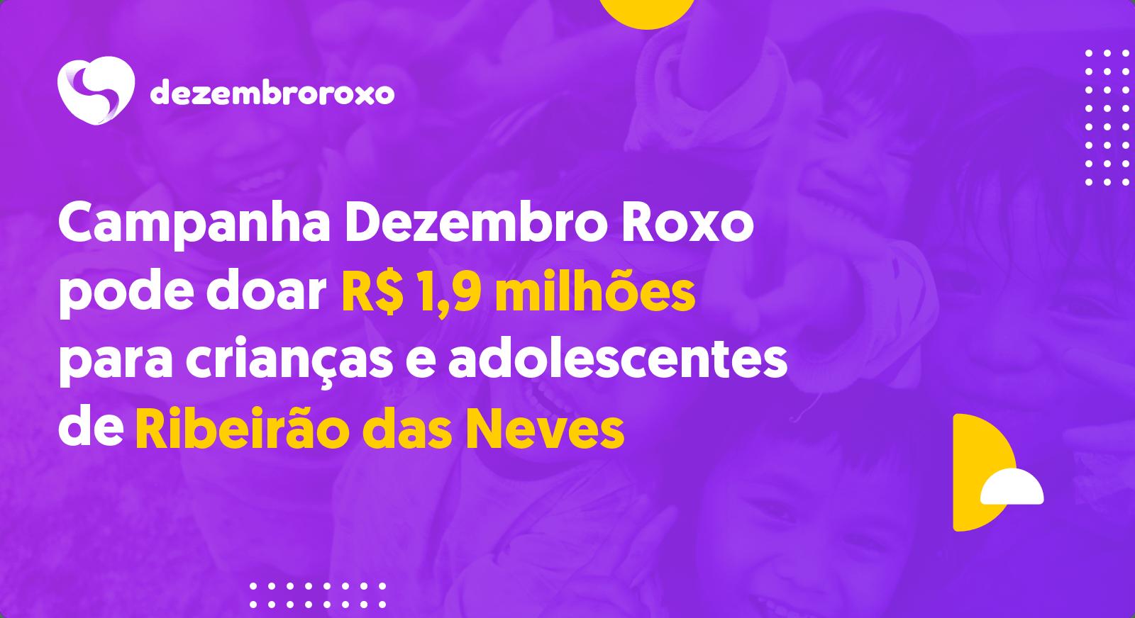 Doações em Ribeirão das Neves - MG