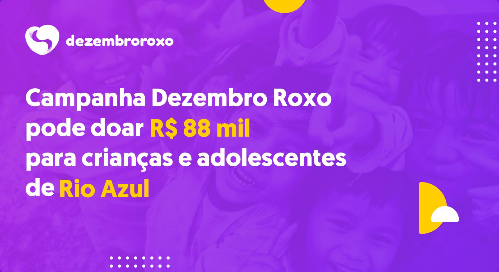 Doações em Rio Azul - PR