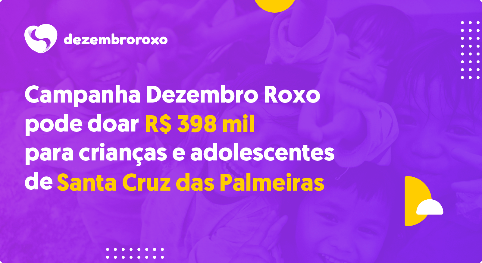 Doações em Santa Cruz das Palmeiras - SP