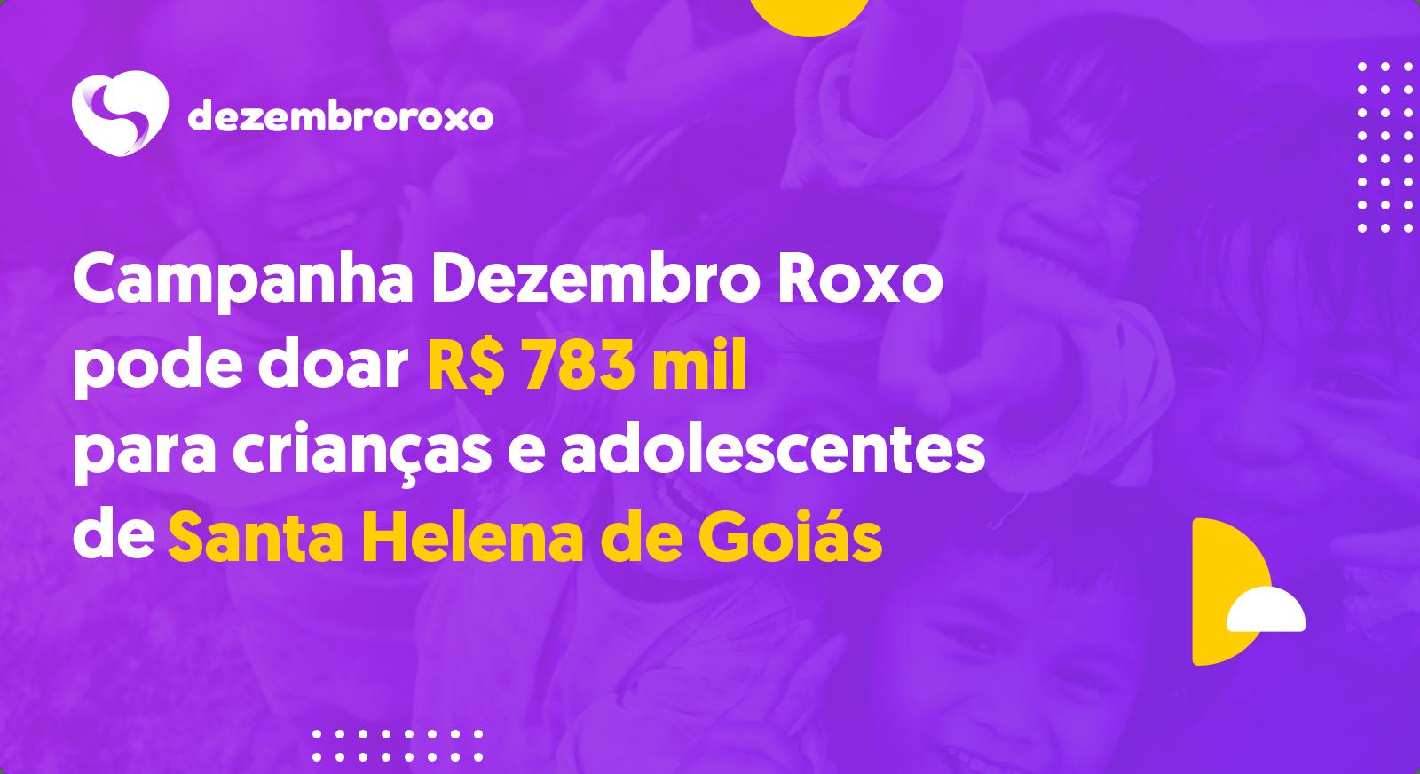 Doações em Santa Helena de Goiás - GO
