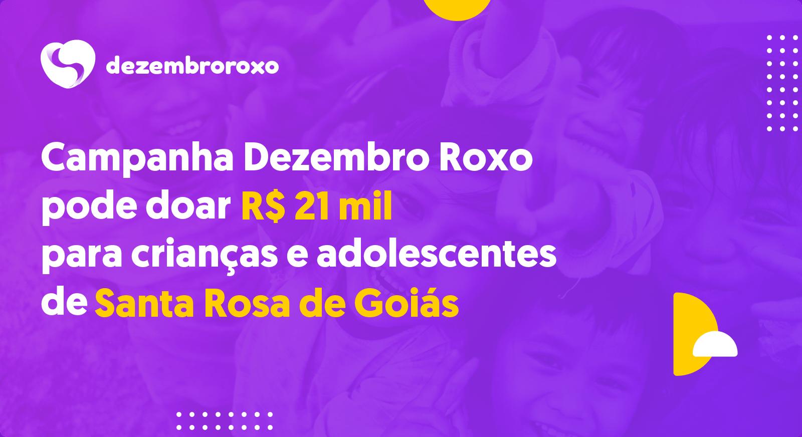 Doações em Santa Rosa de Goiás - GO